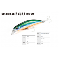 Ψαράκι DUO Spearhead Ryuki 60S WT SW Limited