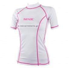 Κοντομάνικο SEAC SUB T-SUN Short Lady White/Pink